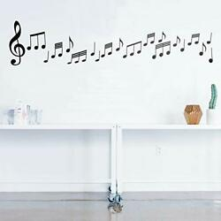 Set of 20 Vinyl Wall Art Decals Music Notes from 6quot; to 8quot; Each Modern T...