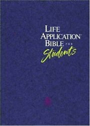 Living Bible Life Application Bible For Students Hardback Book The Fast Free