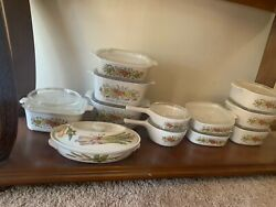 Vintage 1970s Corning Ware Spice O' Life Collection