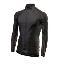 T-shirt Jersey Sleeves Long Bike Cycling Sixs Black Red Wind Aw