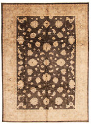 Vintage Hand-knotted Carpet 10and0390 X 13and0397 Traditional Oriental Wool Area Rug