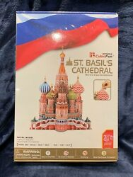 Cubicfun 3d Puzzle St. Basiland039s Cathedral 214 Pieces Brand New Sealed
