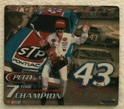 Vintage Richard Petty Nascar 7 Time Winston Cup Series Champion Mouse Pad