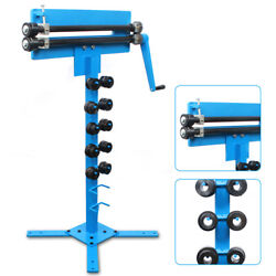 Manual Bead Roller With Cutting Capacity 1.2mm For Sheet Metal Reinforcement New