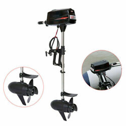 48v Electric Outboard Engines Brushless Boat Motor And Tiller Control E-power