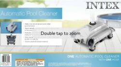 Intex Above Ground Swimming Pool Automatic Vacuum Cleaner 28001e Ships Same Day