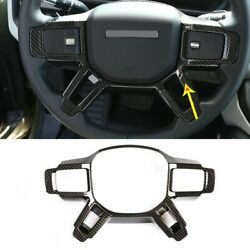 For Land Rover Defender 2020-2021 Steering Wheel Cover+window Lift Switch Trims