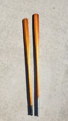 Beautiful Antique Wooden Double Rowing Oars Great For Display Lodge Mancave