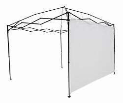 Ozark Trail Sun Wall Fits Most 10andrsquo X 10andrsquo Straight Leg Canopy For Camping White