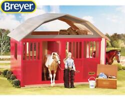 New Breyer Two Stall Barn Traditional 1:9 Scale 307