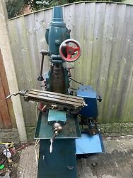 Centec 2a Milling Machine Vertical And Horizontal Milling Head North Wales
