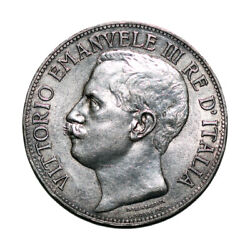 Jcr_m Italy - 5 Lire 1911-r Km-53 - Silver - Extremely Fine