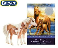 New Breyer Misty amp; Stormy Models amp; Book Set Chincoteague Ponies 1:9 Scale 1157