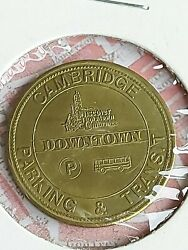 City Of Cambridge Parking And Transit Downtown 25 Cent Trade Token Coin Bb