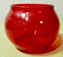 Vintage Chicago Milwaukee St. Paul And Pacific Railroad Lantern Red Globe Cmstpandp