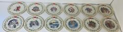 Vtg Lenox 1994 4- 2005 15 Annual Holiday Collector Christmas Plate Lot Of 12