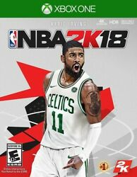 Nba 2k18 Standard Edition - Xbox One New Video Games