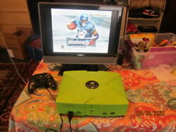 Limited Edition Mountain Dew Microsoft Xbox Working .