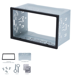 Suv Car Accessories Double 2din Radio Stereo Install Bezel Panel Mount Dash Kit