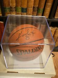 Kobe Bryant Autographed Basketball, Comes With Coa And Case