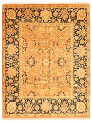 Vintage Hand-knotted Carpet 8'0 X 10'1 Traditional Oriental Wool Area Rug