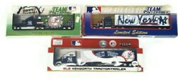 New York Yankees Die Cast Tractor Trailers Lot Of 3 W Boxes