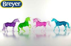 New Breyer Unicorn Gift Collection Set Stablemates 1:32 Scale 6048