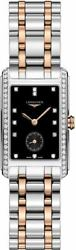 Longines Dolcevita Black Dial Two-tone Womenand039s Watch L5.512.5.59.7