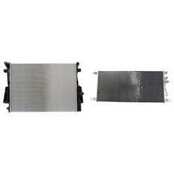 Radiator And A/c Condenser Kit For 08-10 Ford F-250 Super Duty F-350 Super Duty