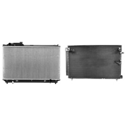 Radiator And A/c Condenser Kit For 2001-2006 Lexus Ls430