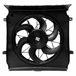 A/c Condenser Cooling Fan Radiator Kit For 2006 Jeep Liberty