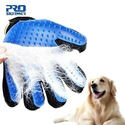 Cleaning Animal Dog Pet Grooming Brush Comb Bath Easy Silicone Glove