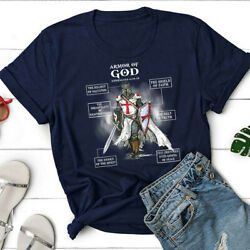 Armor Of God Bible Verse Great Gift For Religious Christian Unisex T-shirt