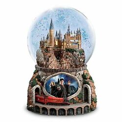 The Bradford Exchange Harry Potter Musical Glitter Globe With Rotating Train