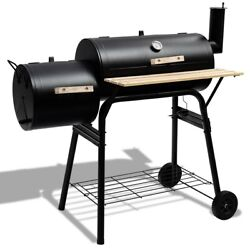Durable Easy To Move Outdoor Bbq Grill Barbecue Pit Patio Cooker New