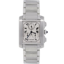 Tank Francaise 2303 Stainless Steel Mens Watch