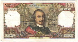 France Banknote - 100 Cent Francs - Year 1976 - Pierre Corneille - Free Shipping