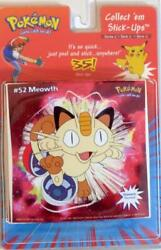 Pokemon Stick Ups Peel and Stick Wall Decals Made in the USA