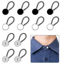 12pcs, Collar Extenders, Comfy Premium Invisible Neck Extender Adds 1 In Instant