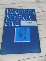 1975 Windthorst Isd Texas Yearbook Annual The Trojans Grades K - 12