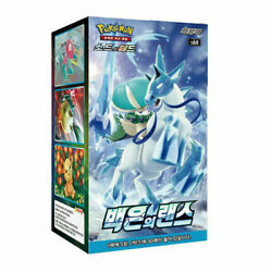 Pokemon Card Sword And Shield Silver Lance Booster Box 30 Pack / Korean Ver.
