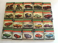 A Picture History Of The Motor Car 1 - 20 Complete Set - Paperback - Rare
