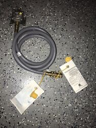 Natural Gas 1/2 Pvc Hose With Quick Disconnect And Regulator Outdoor Kitchen Bbq