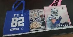 Dallas Cowboys Jason Witten Lucky Stars Cereal Box Factory Sealed + Pink Bag 2x