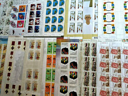 Canada Mint Never Hinged Stamp Sheet Collection