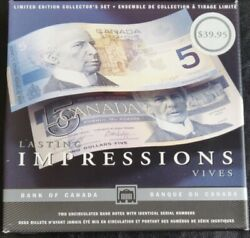 1986-5-2 Lasting Impressions Banknotes With Identical Serial Numbers.