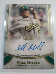 2021 Topps Tier One Mark Mulder /300 On Card Auto Baseball Card No. Ppa-mm
