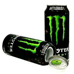 Monster Energy Drink Diversion Safe With Secret Compartment For Valuables - New