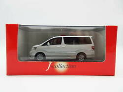1/43 Kyosho Jcollection Toyota The First Alphard Minicar Pearl White