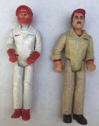 Rare 1979 Tonka Toys 3.75 Action Figure Aj Foyt Pit Crew Guy And Driver